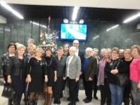 Studenci seniorzy Uniwersytetu Trzeciego Wieku na spektaklu w Teatrze Muzycznym w Lublinie