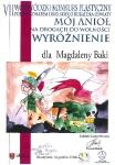 """VII Wojewódzki Konkurs Plastyczny """"Mój Anioł - na drogach do wolności"""" zorganizowany przez MDK w Krasnymstawie"""