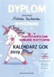 """XXVII Ogólnopolski Konkurs Plastyczny """"Kalendarz GOK 2019"""" zorganizowany przez Gminny Ośrodek Kultury w Stawigudzie"""