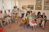 Wernisaż wystawy malarstawa Ewy Wójcik