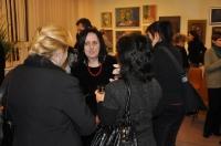 Wernisaż wystawy malarstwa i rysunku uczestników pracowni twórczej malarstwa sztalugowego