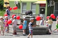 Fontanna - wizyta dzieci z PP nr 4