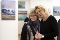 Wernisaż wystawy twórczości uczestniczek zajęć w pracowni malarstwa sztalugowego