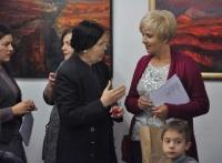 Wernisaż wystawy malarstwa Krystyny Gałat-Grzywy