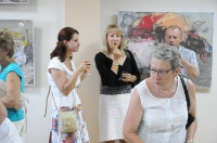ALEKSEJ ŻEREŁO- wernisaż wystawy malarstwa
