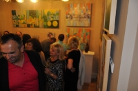 wernisaż wystawy poplenerowej IX MIĘDZYNARODOWEGO PLENERU ARTYSTYCZNEGO - ŁĘCZNA 2013