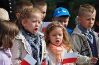 Uroczystość z okazji 75. rocznicy bitwy o most lubelski w Łęcznej