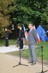 Uroczystość z okazji 76. rocznicy bitwy o most lubelski w Łęcznej w czasie kampanii wrześniowej 1939 roku
