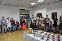 Wernisaż wystawy malarstwa artystów z Białorusi     Edward Gałustow i Jurij Makarenko