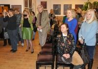wernisaż wystawy malarstwa Hanny Gralak