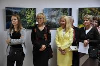 Wernisaż wystawy malarstwa Maryli Giszczak