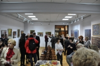 Wernisaż wystawy malarstwa Krystyny Gałat-Grzywy pt. WCZORAJ I DZIŚ
