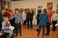 Wernisaż wystawy malarstwa uczestników zajęć w pracowni malarstwa sztalugowego