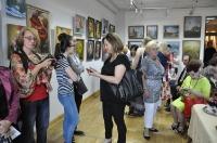 Wernisaż wystawy uczestniów zajęć malarskich w Centrum Kultury