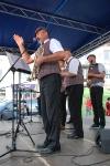Łęczyńska Kapela Podwórkowa Bum Ta Ra Ra na Powiatowym Przeglądzie Kapel Ulicznych w Kraśniku